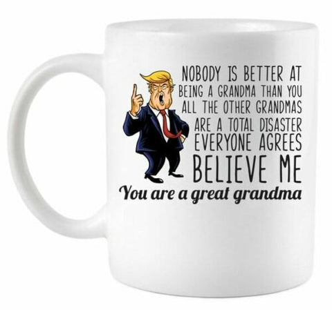 Your A Great Grandma Donald Trump Coffee Mug