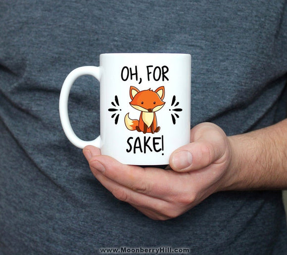 Zero Fox Given, Coffee Mug