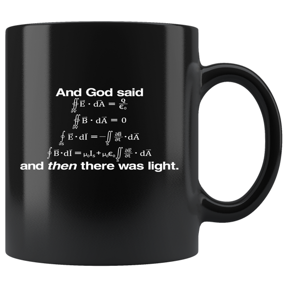 And God Said mug