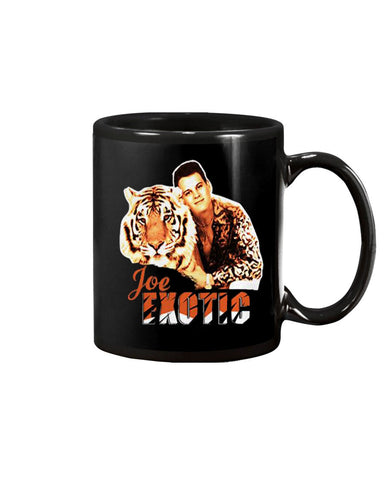 Nice Joe Exotic King Tiger Coffee Mug