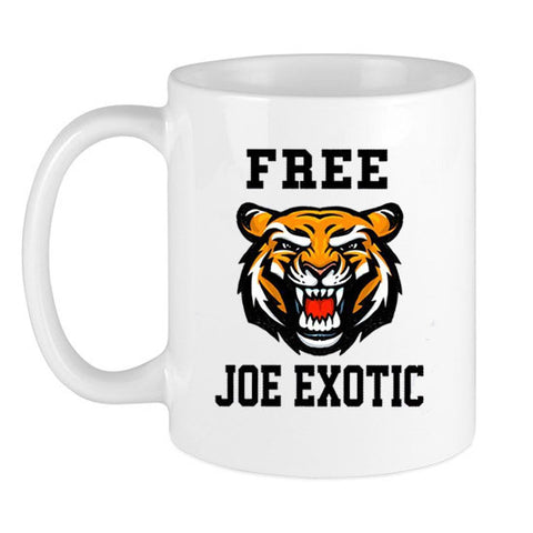 Free Joe Exotic Tiger Coffee Mug