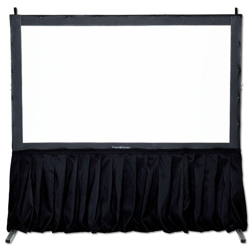 "29"" Projector Screen Black Skirt Drape Kit"