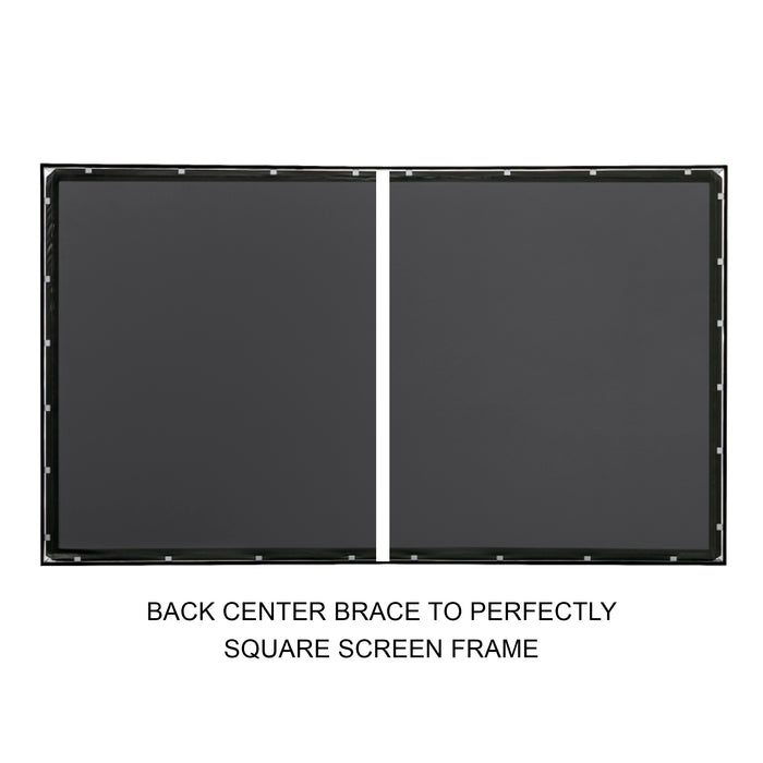 "135"" Fixed Frame Projector Screen"