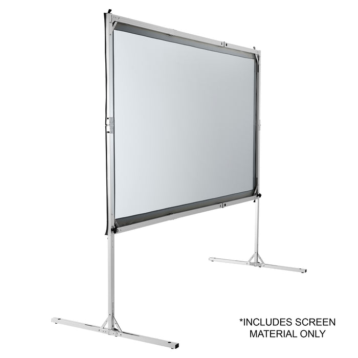 "144"" (Dual) Rear Projection Screen Material, Front Projection Viewable"