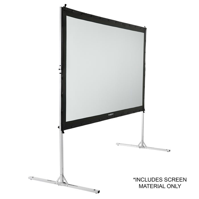 "132"" (Dual) Rear Projection Screen Material, Front Projection Viewable"