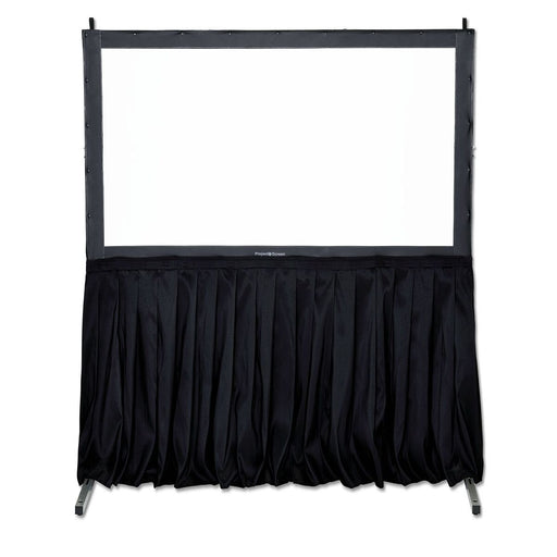 "60"" Projector Screen Black Skirt Drape Kit"