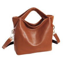 Load image into Gallery viewer, Vintage Leather Tote Bag