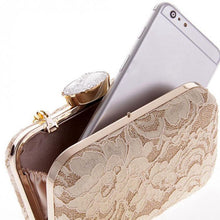 Load image into Gallery viewer, Lace - Dinner - Wedding - Party Handbag