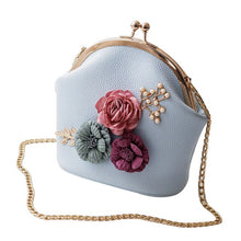Load image into Gallery viewer, Stereo Flowers Shoulder Bag