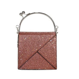 Small Square Package Diagonal Chain Bag