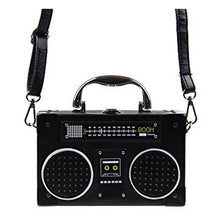 Load image into Gallery viewer, Radio Box Shoulder Leather Bag