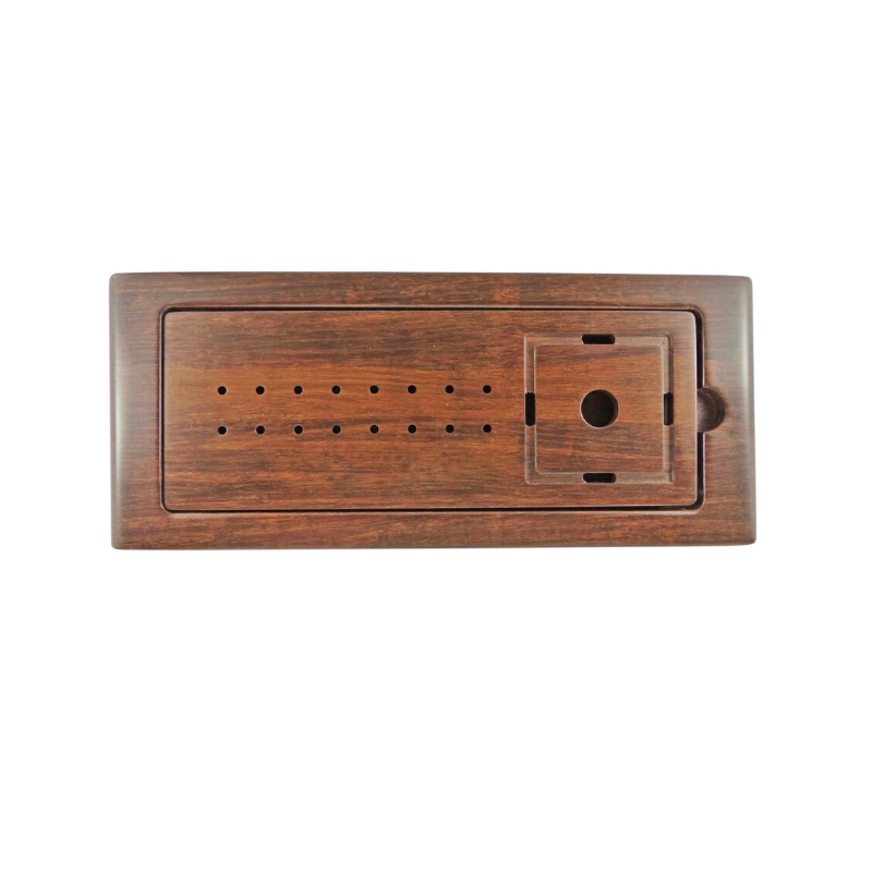 Dark Bamboo Tea Tray