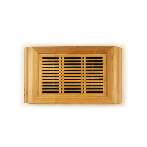Golden Bamboo Tea Tray