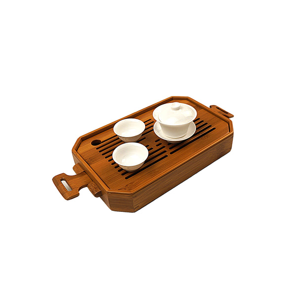 Golden Bamboo Ceremonial Travel Tray