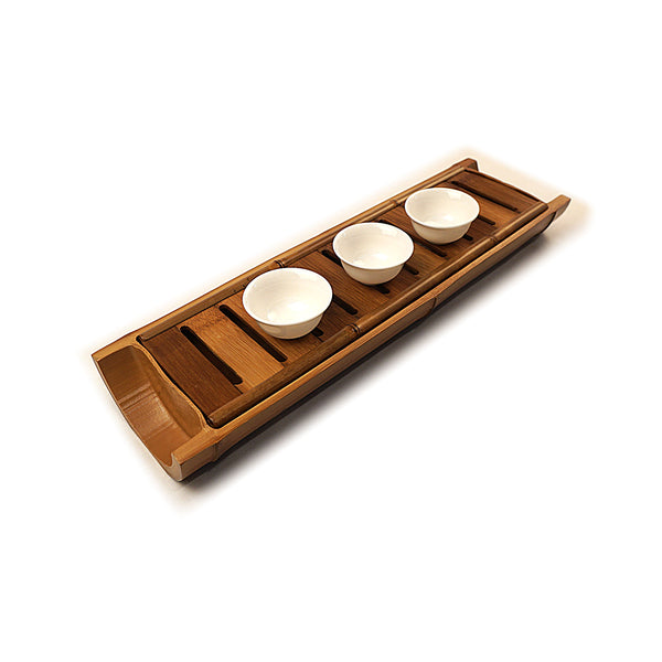 Aged Bamboo Tea Tray