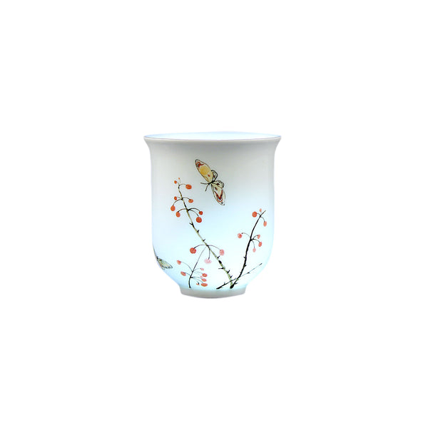 Exclusive Jingdezhen Porcelain Cup Five Designs