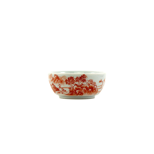 Jingdezhen Porcelain Pink In/Out Handprints Cup