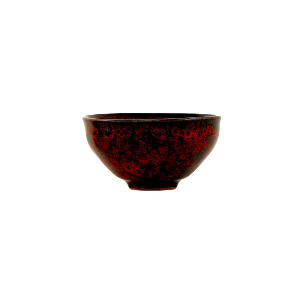 Jingdezhen Porcelain Bowl Shape Red Floral Cup