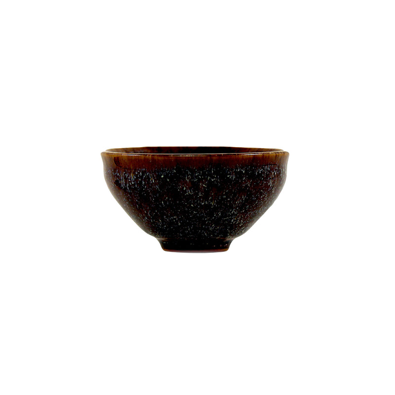 Jingdezhen Porcelain Reddish Brown Glaze Cup