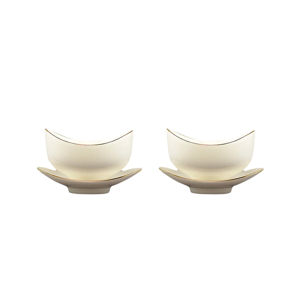 Ingotistic Twin Tea Cups Porcelain