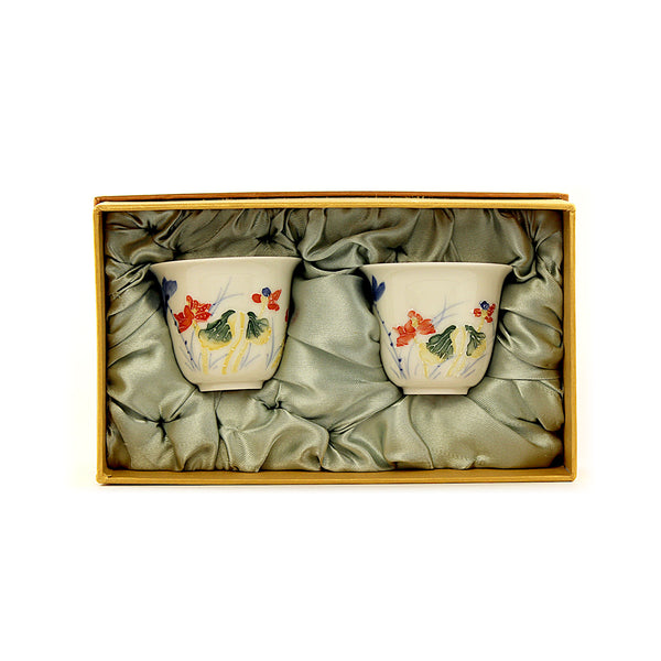 Teacups Set of 2 in Gift Box