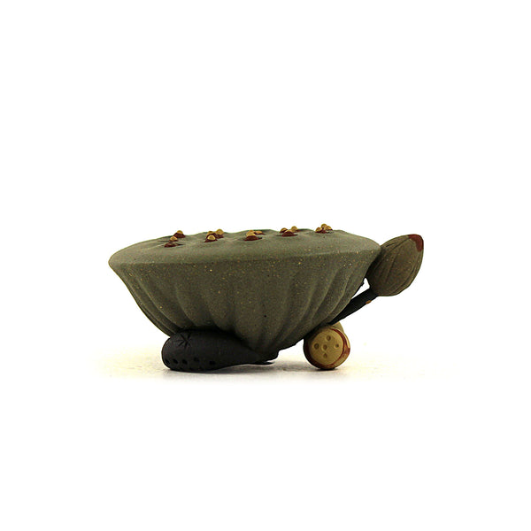 Lotus Lid Stand Terracotta