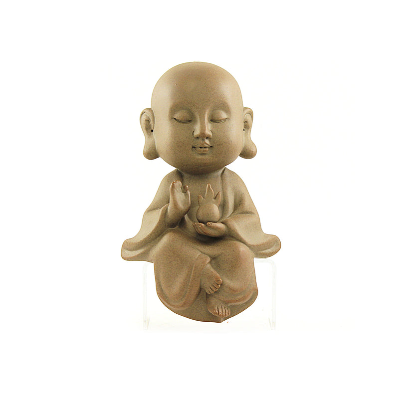Sitting Buddha Terracotta set of 3