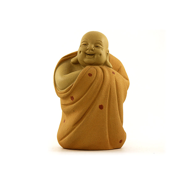 Laughing Buddha Terracotta