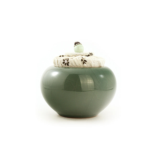 Tea Canister (Caddy) 哥(Ge) kiln