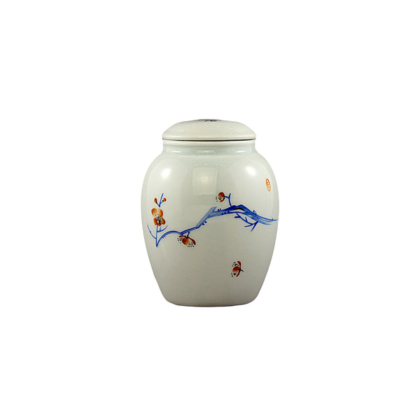Porcelain Canisters (Caddy) Twin Set