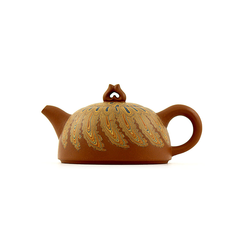 Yixing Terracotta Chinese Teapot #APR207 宜興紫砂茶壶