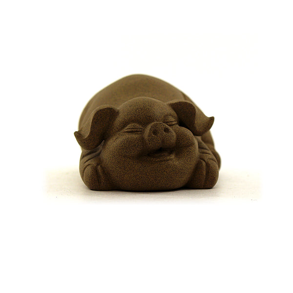 Laughing Pig Terracotta