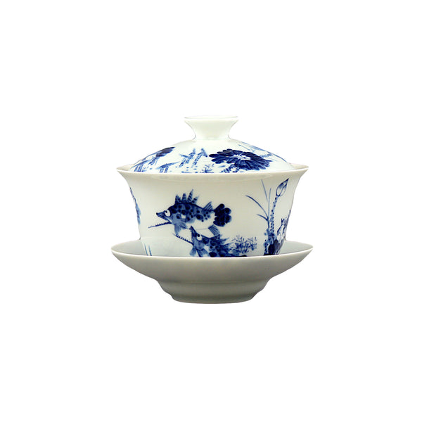 Ceremony Qinghua Tea Set 青花瓷茶具
