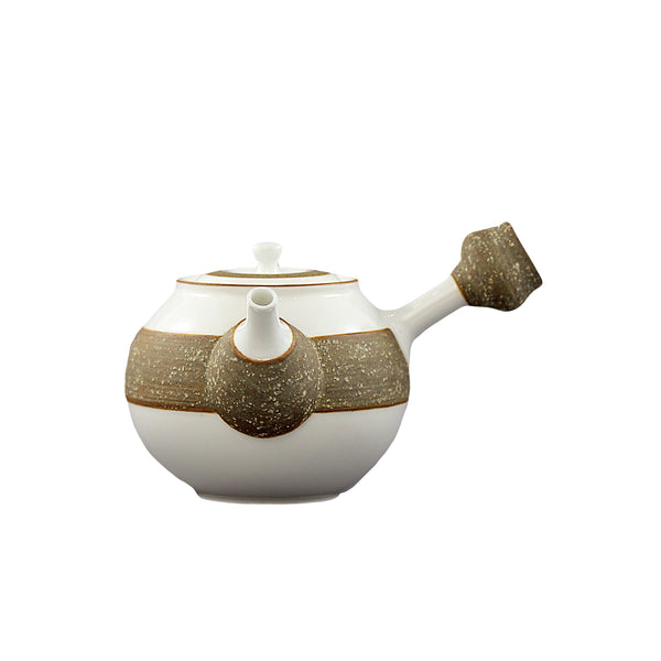 Porcelain & Volcano Ash Tea Set