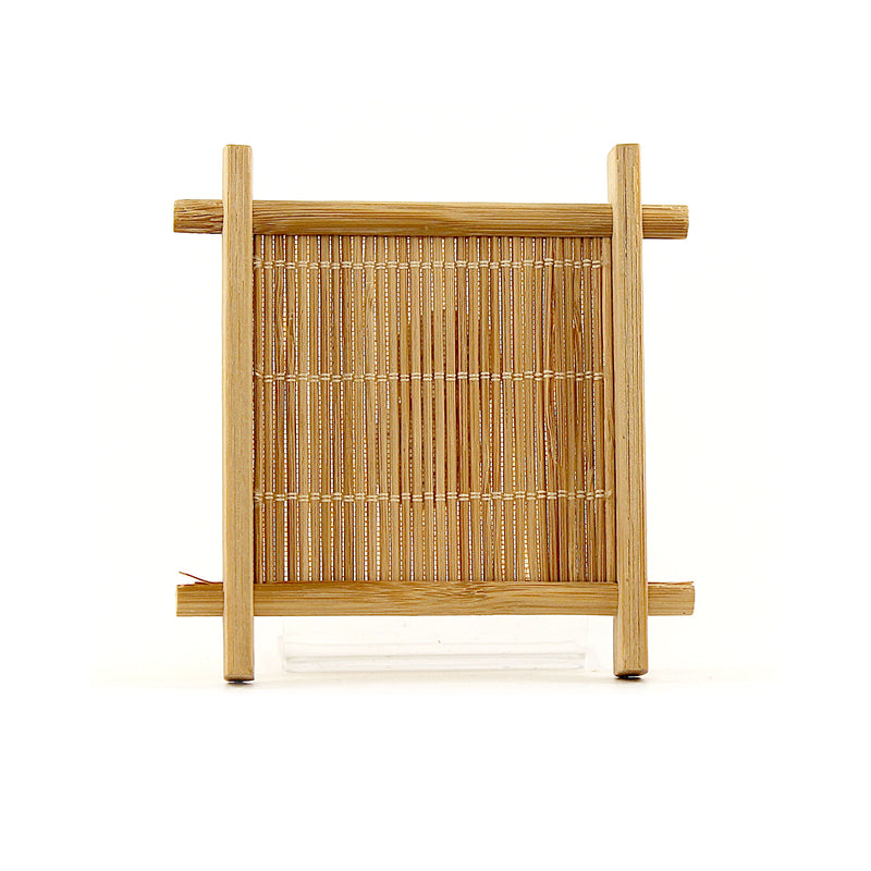 Bamboo Coaster Square Set of 6