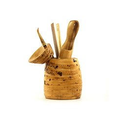 Bamboo Root Ceremonial Utensils Set