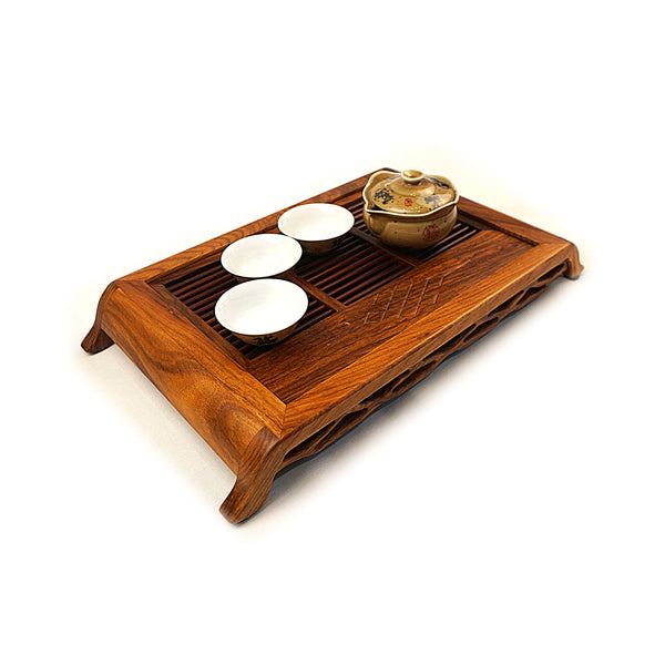 Rosewood Ceremonial Tea Tray