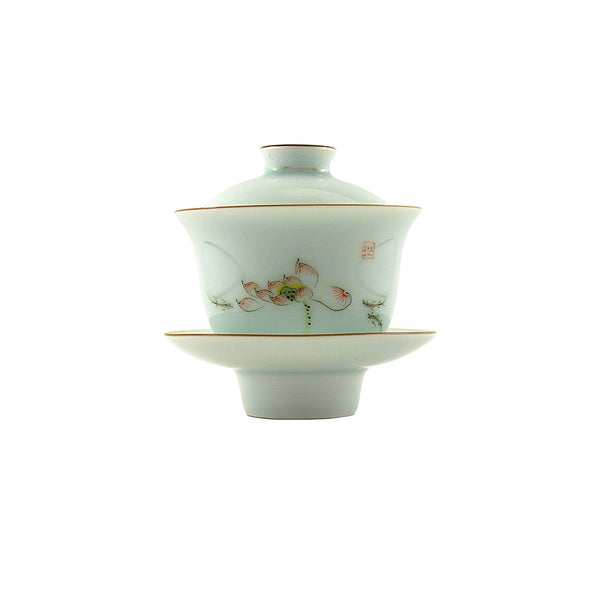 Jingdezhen Gaiwan 150ml Melody Lotus 景德鎮 蓋碗