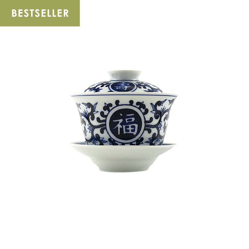 Jingdezhen Gaiwan 150ml Lotus Fortune 景德鎮 蓋碗