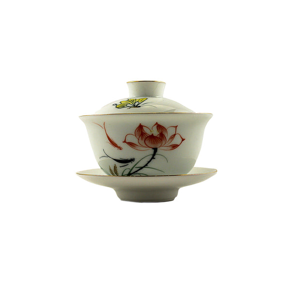 Porcelain Gaiwan 150ml Colourful Bloom 蓋碗