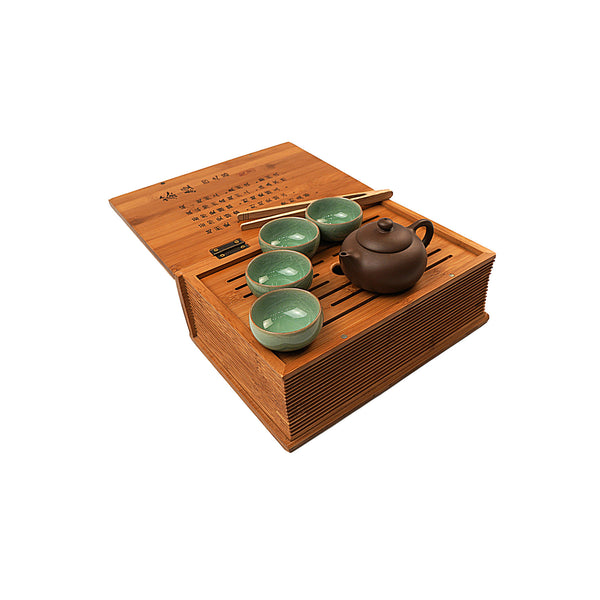 Travel Tea Set & Tray