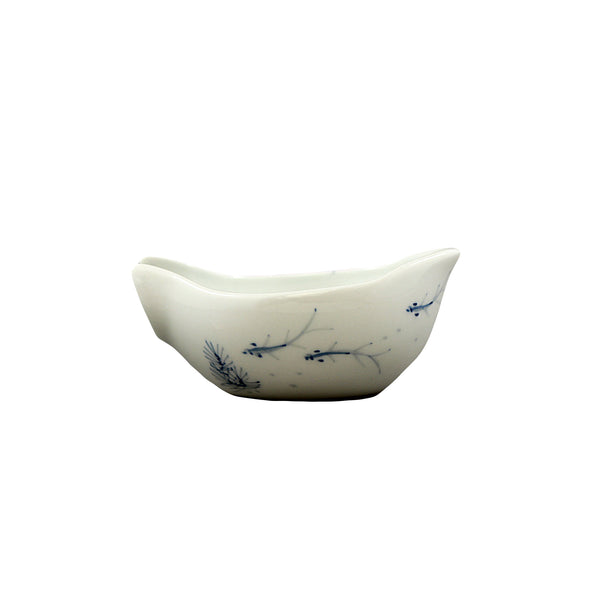 Fish Pond Tea Holder Jingdezhen Porcelain