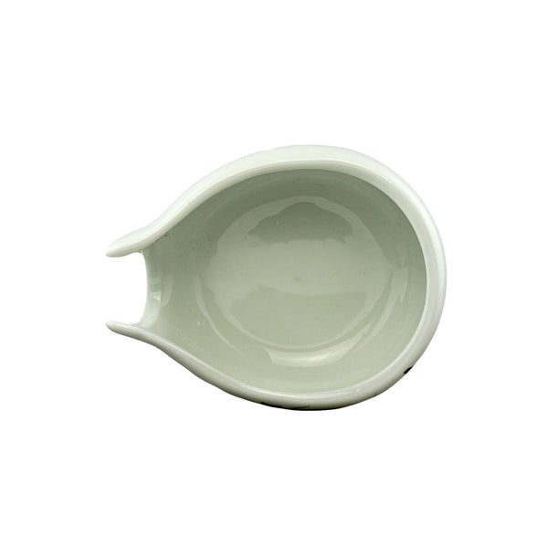 Green Bamboo Tea Holder Porcelain