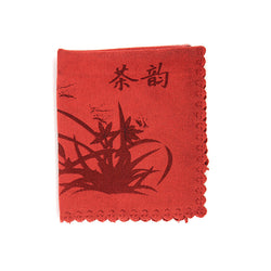Traditional Ceremonial Tea Towel (Red)
