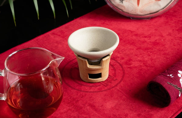 Jingdezhen Silk Tea Strainer Set