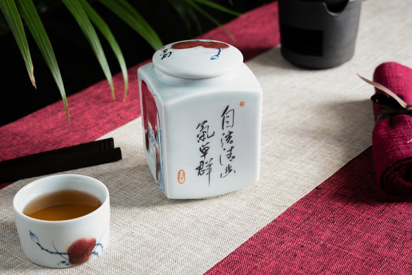 Jingdezhen Tea Canister (Caddy)