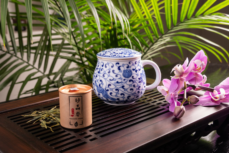 Tangler Jingdezhen Pear Shape Mug with Infuser