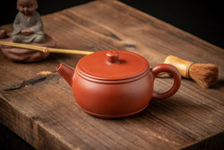 Yixing Terracotta Teapot Drum