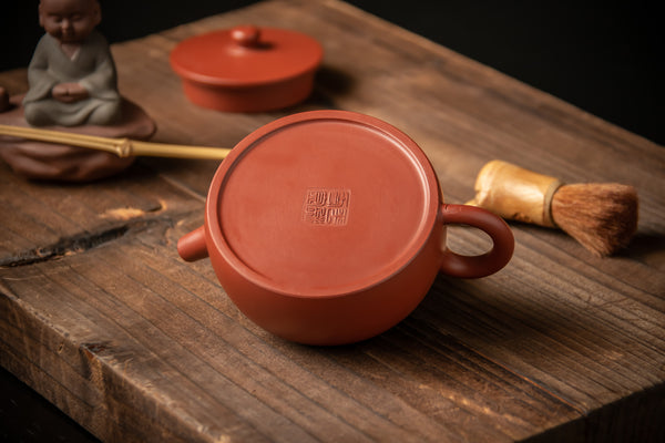Yixing Terracotta Teapot The Flat