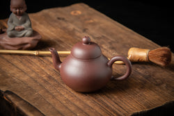 Yixing Terracotta Teapot Pear Mini